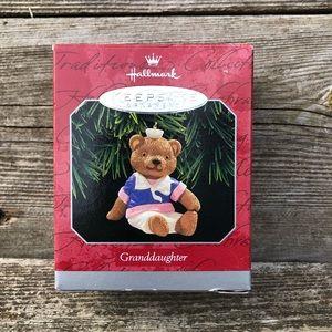 Hallmark Keepsake Ornament Granddaughter 1998